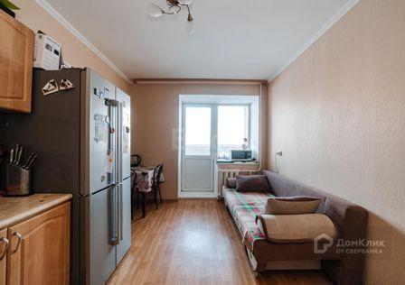 Продаётся 1-комнатная квартира, 39.8 м²