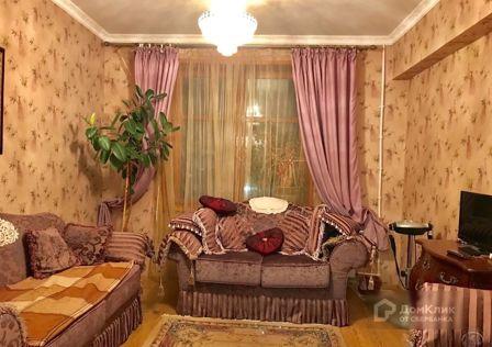 Продаётся 3-комнатная квартира, 77.6 м²