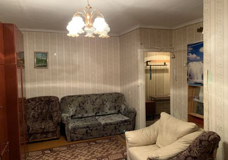 Продаётся 2-комнатная квартира, 44.2 м²