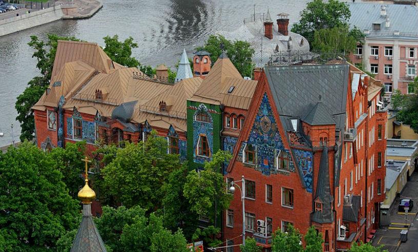 Интересные здания москвы