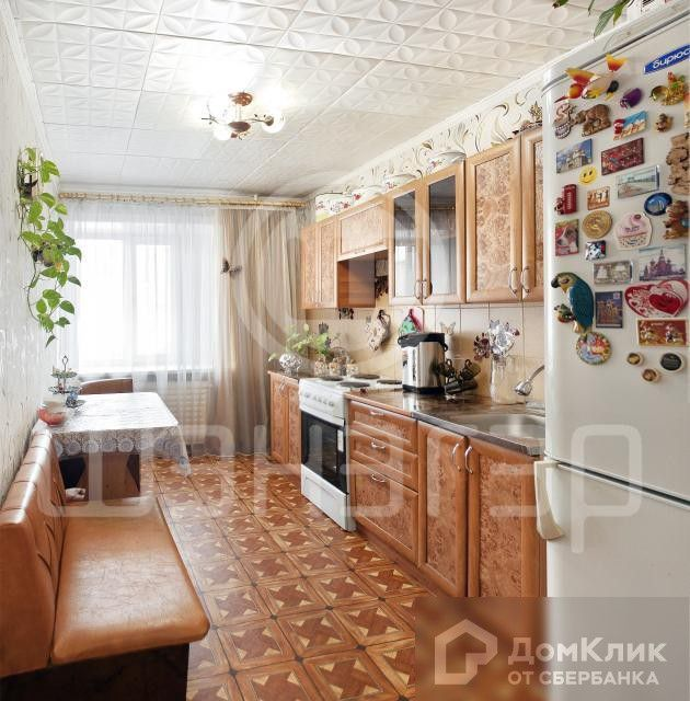 Продаётся 3-комнатная квартира, 62.6 м²