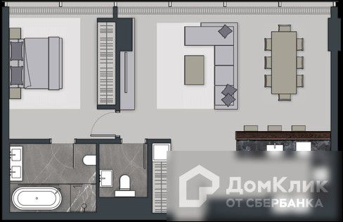Продаётся 2-комнатная квартира, 78.9 м²
